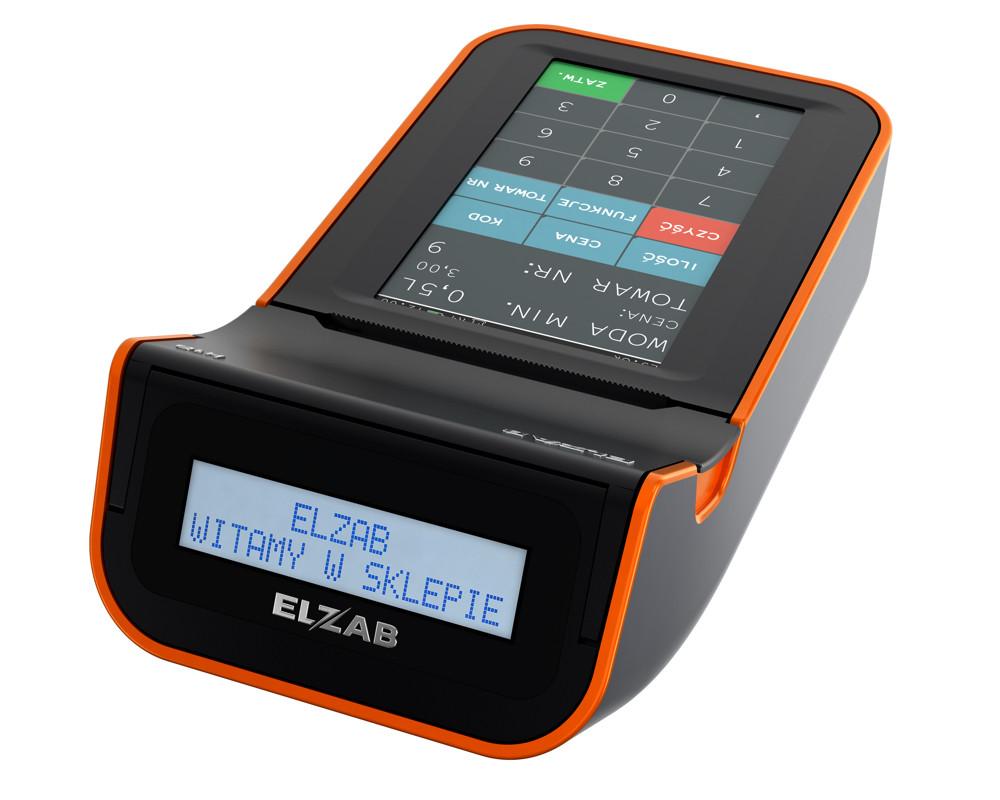 ELZAB K10+ 3K mobilna kasa fiskalna kolbuszowa